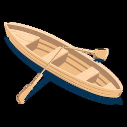 Barco de transporte isométrico