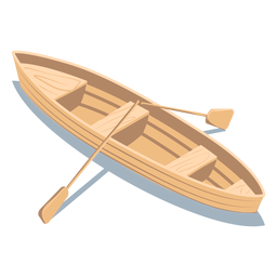 Isometric transport boat