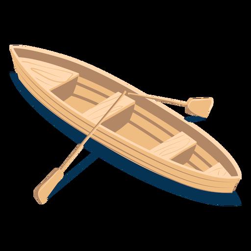 Isometric transport boat Transparent PNG