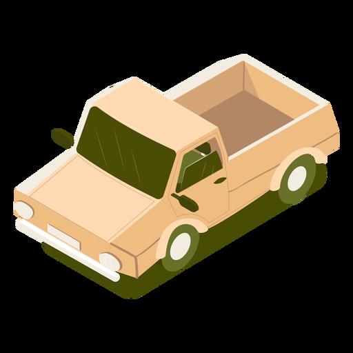 Carro de transporte isométrico Transparent PNG