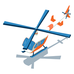 Isometric transport helicopter