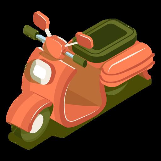Moto de transporte isométrico Transparent PNG