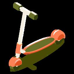 Scooter isométrico de transporte