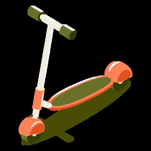 Scooter de transporte isométrico Transparent PNG