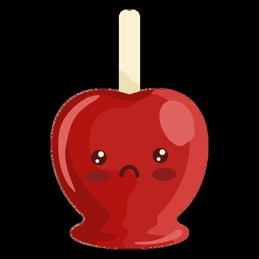 Kawaii apple Transparent PNG
