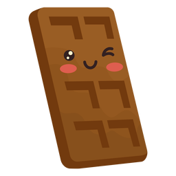 Kawaii chocolate bar