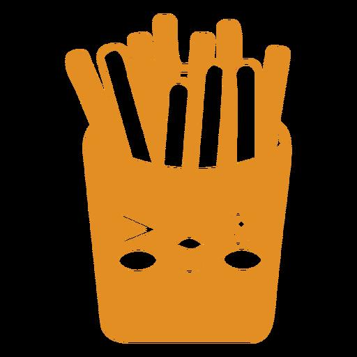 Kawaii food fries
