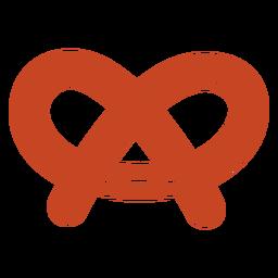 Kawaii pretzel