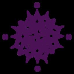 Mandala symbols indian violet
