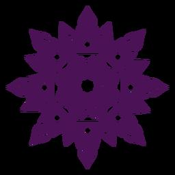 Mandala diwali violet
