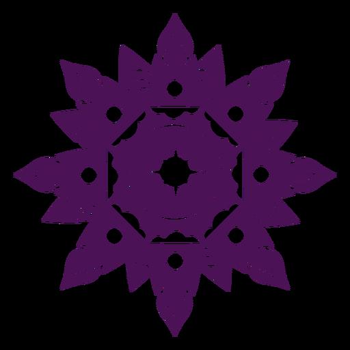 Mandala diwali violeta