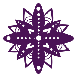 Mandala symbols violet diwali