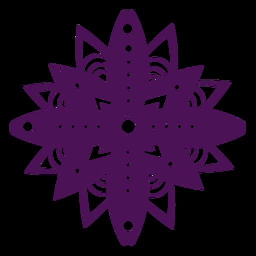 S?mbolos de mandala violeta diwali