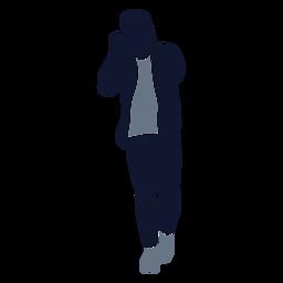 Figura de hombre de moda masculina