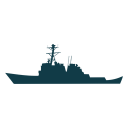 Navy ships silhouette green ship