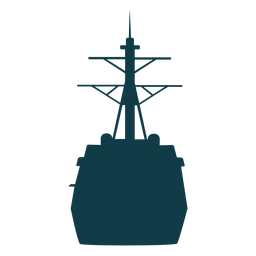 Buques de la marina silueta buque