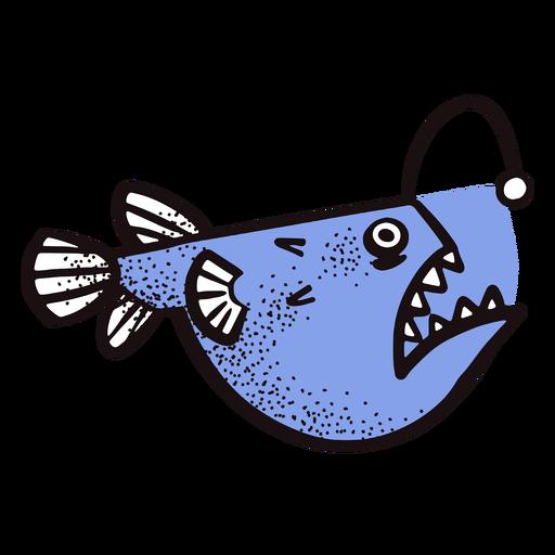 Ocean angler fish