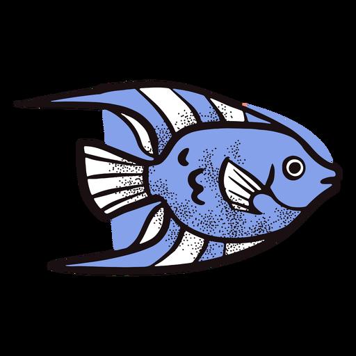 Peces exóticos animales del océano