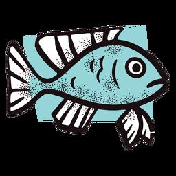 Peixe dos desenhos animados do oceano