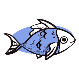 Ocean cute fish