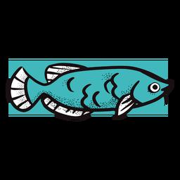 Imagem de peixes do oceano