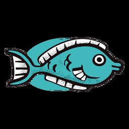 Pequeño pez oceánico