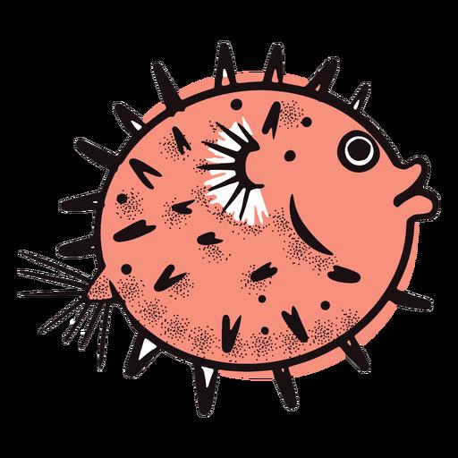 Ocean round fish Transparent PNG