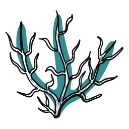 Ocean stroke seaweed