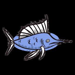 Peixe-espada do oceano