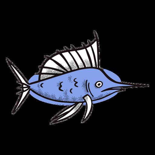 Pez espada del océano Transparent PNG