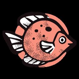 Ozean wilder Fisch