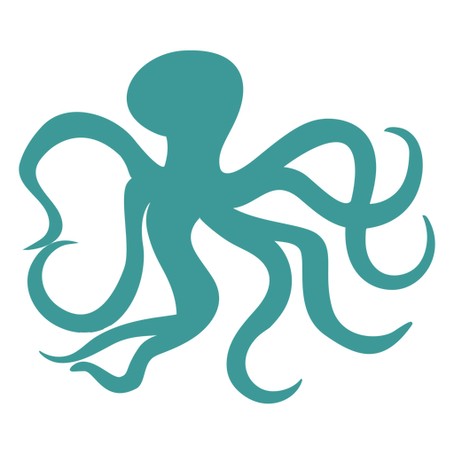 Octopus silhouette octopus Transparent PNG
