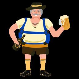 Oktoberfest german man