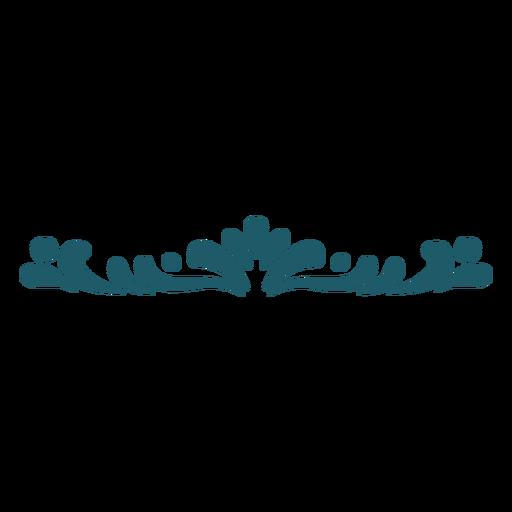 Adorno verde Transparent PNG