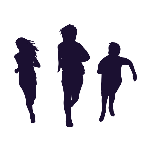 Silhouette people Transparent PNG