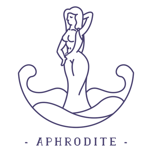 Golpe dios griego afrodita Transparent PNG