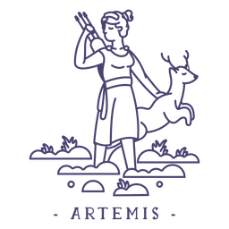 Stroke greek god artemis