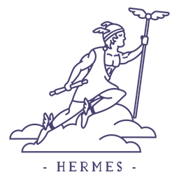 Golpe dios griego hermes