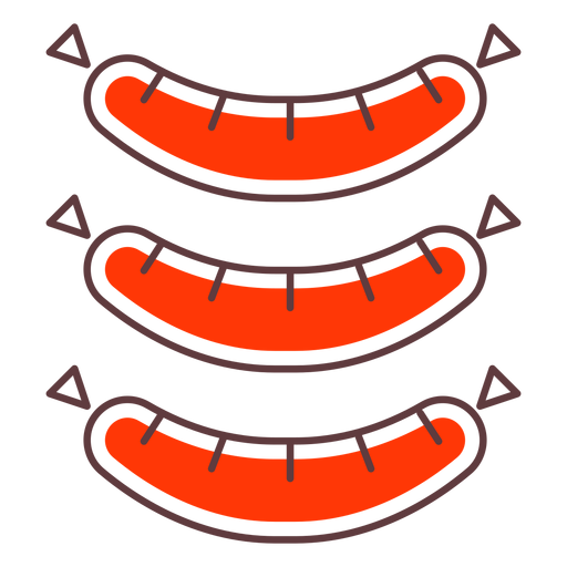 Stroke icon sausages