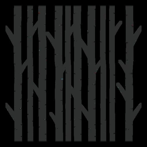 Trees black forest Transparent PNG