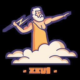 Zeus griechischer Gott Charakter