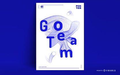 Olympic Games Sports Quote Poster Design