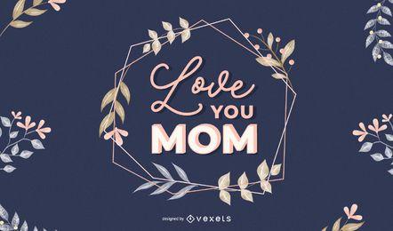 Te amo mãe letras