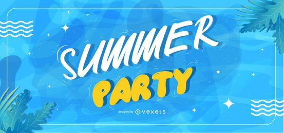 Summer party slider template