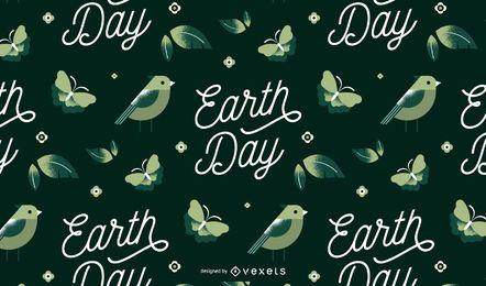 Diseño del patrón del día de la tierra