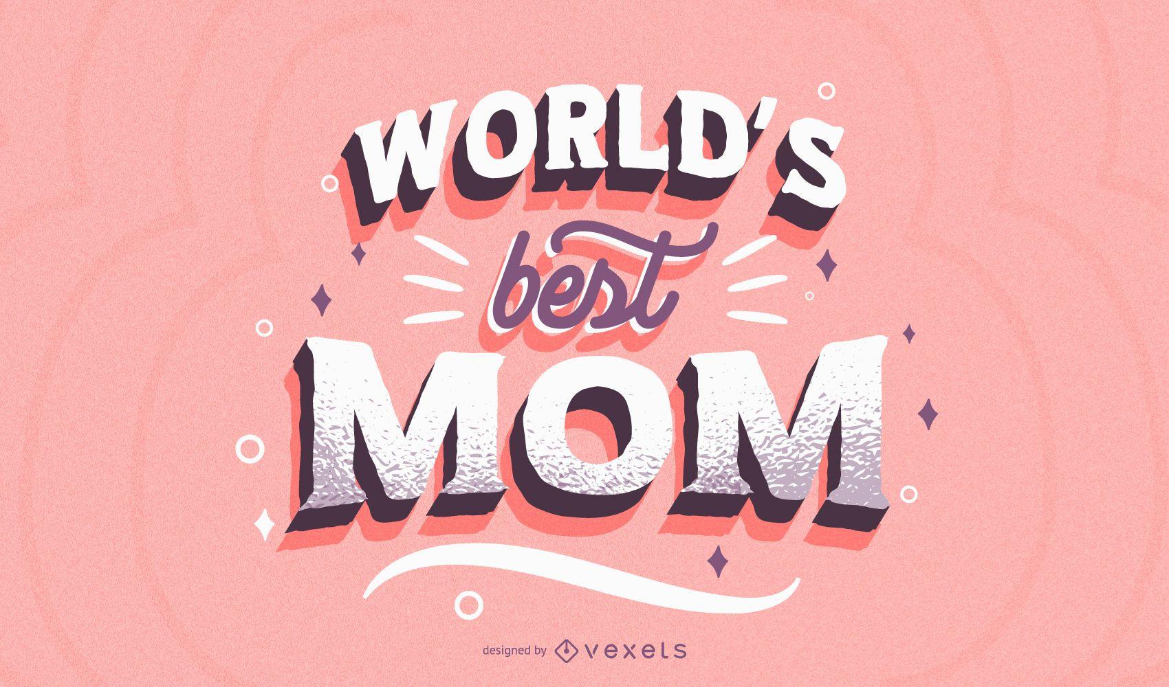 Mejor diseño de letras de mamá