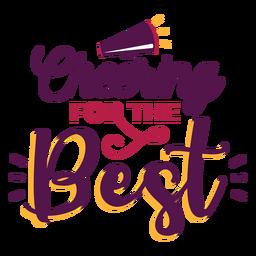 Cheer best lettering