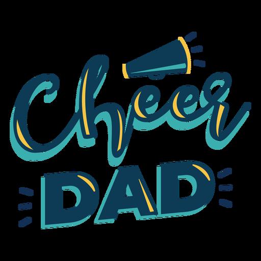 Letras de alegría papá