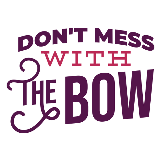 Dont mess lettering