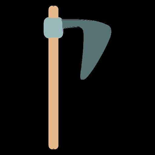 Icono de barba hacha de granja Transparent PNG